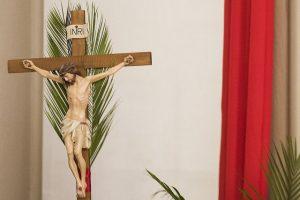 krzyż niedziela palmowa jezus
