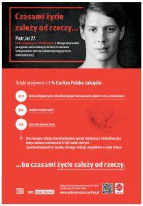 caritas jeden procent