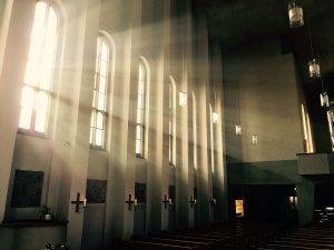 kościół okno słońce promienie