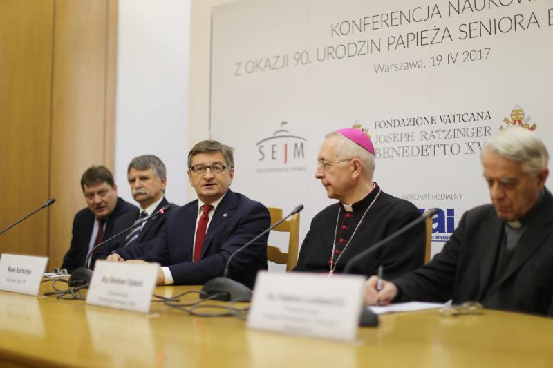 Konferencja w SKEP o Benedykcie XVI