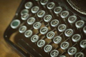 maszyna do pisania listy