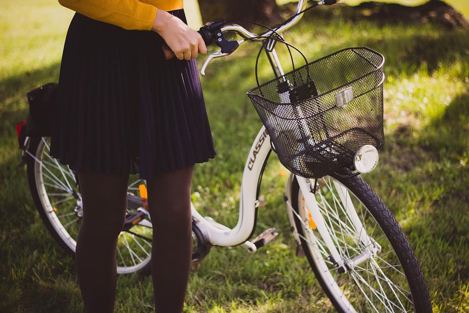 rower dziewczyna