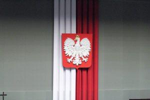 sejm polska flaga orzeł