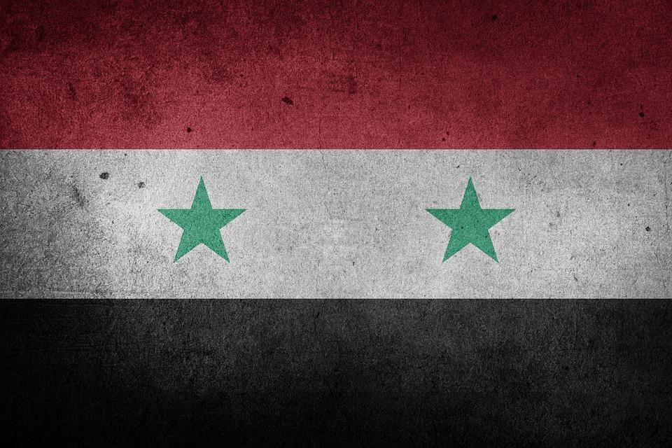 syria flaga pomoc