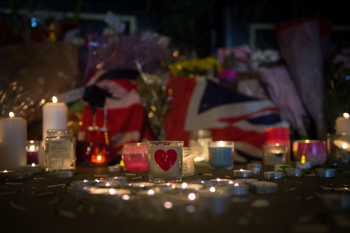 Manchester Zamach Żałoba