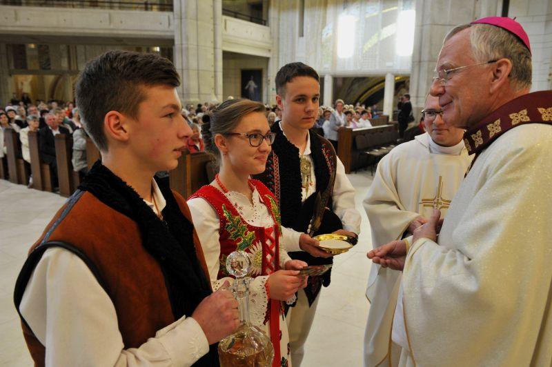Nabożeństwo ku czci św. Jana Pawła II 1
