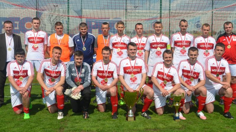 Turniej piłkarski w seminarium w Siedlcach