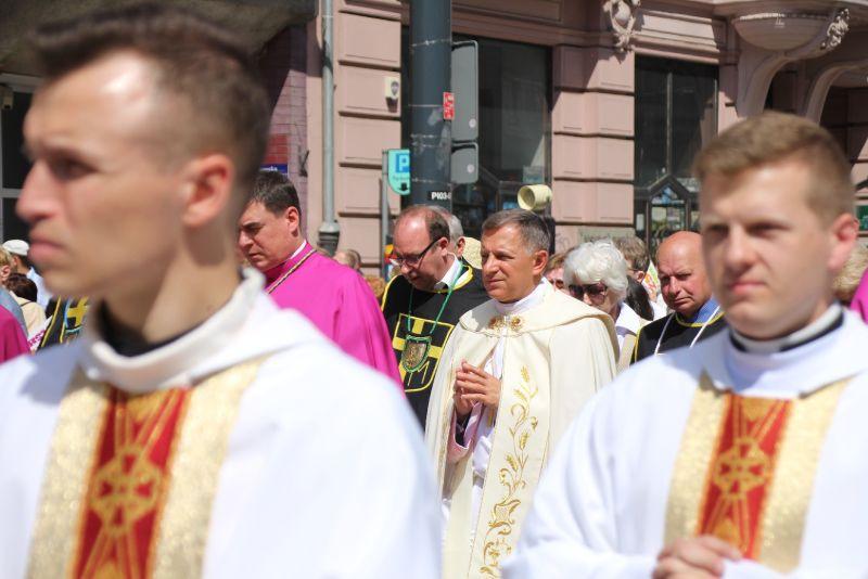 Msza św. w święto Eucharystii