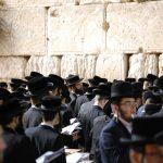 żydzi jerozolima ściana płaczu