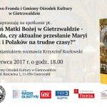 Spotkanie z okazji 140. rocznicy objawień Matki Bożej w Gietrzwałdzie