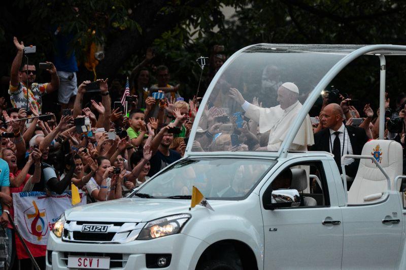 franciszek papież młodzież śdm wawel