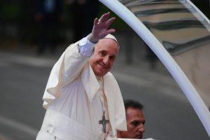 papież franciszek śdm wawel papież jedzie na wawel