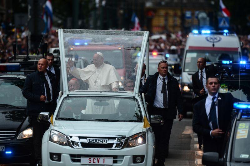 Franciszek papież śdm kraków wawel