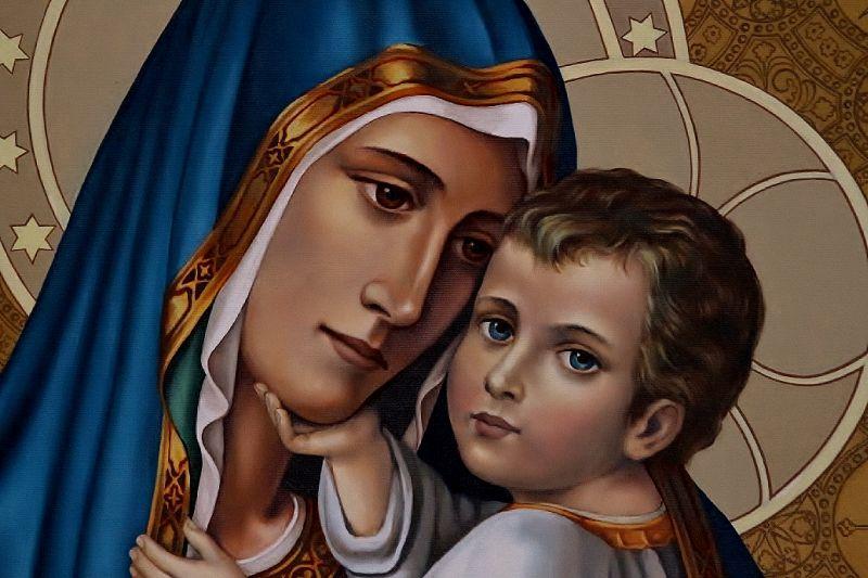 matka boża szkaplerz