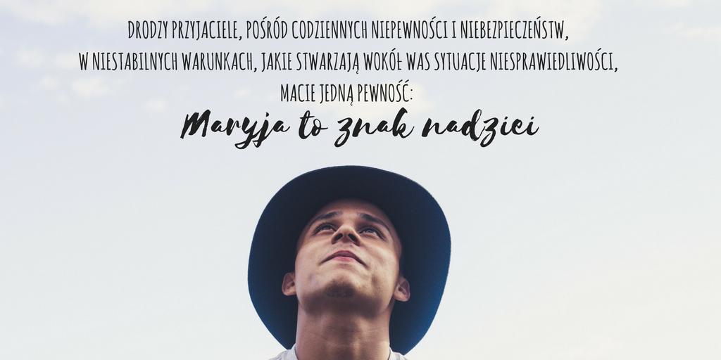 Maryja znakiem nadziei, Franciszek