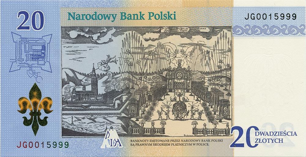 nbp banknot na 300-lecie