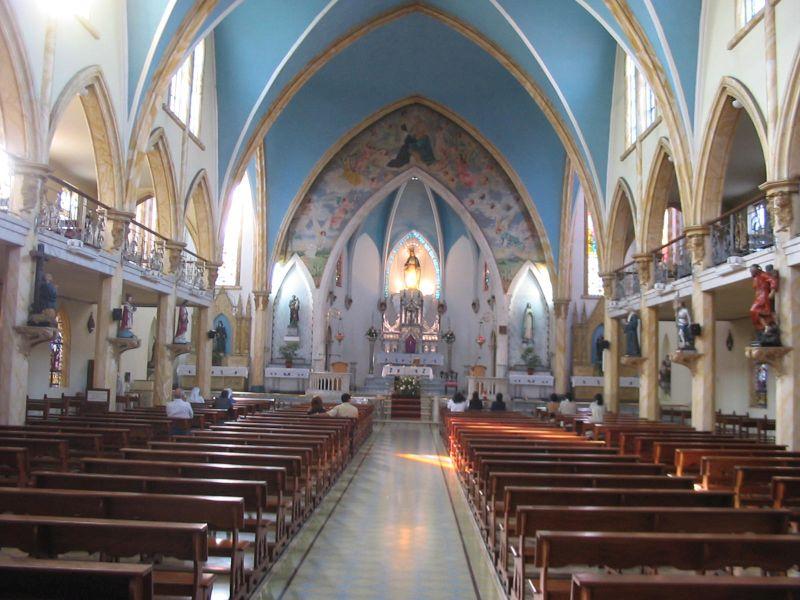 Kościół klasztorny, gdzie modlila sie s. Samulowska