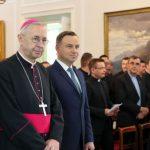 Abp Gądecki o podstawowych zasadach w relacjach Kościoła do polityki i państwa