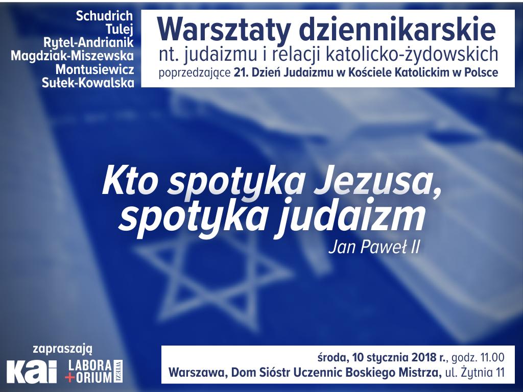 warsztaty o judaizmie