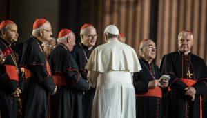 Papież Franciszek Kardynałowie Watykan