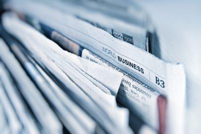 Prasa media news informacja gazeta