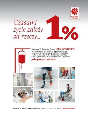 1 procent Caritas