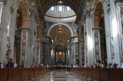 nawa bazyliki świętego Piotra
