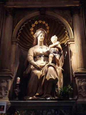 Figura Madonny, patronki rodzących