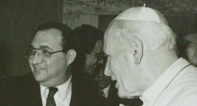 Początek lat 80. Pierwsze spotkanie z Janem Pawłem II