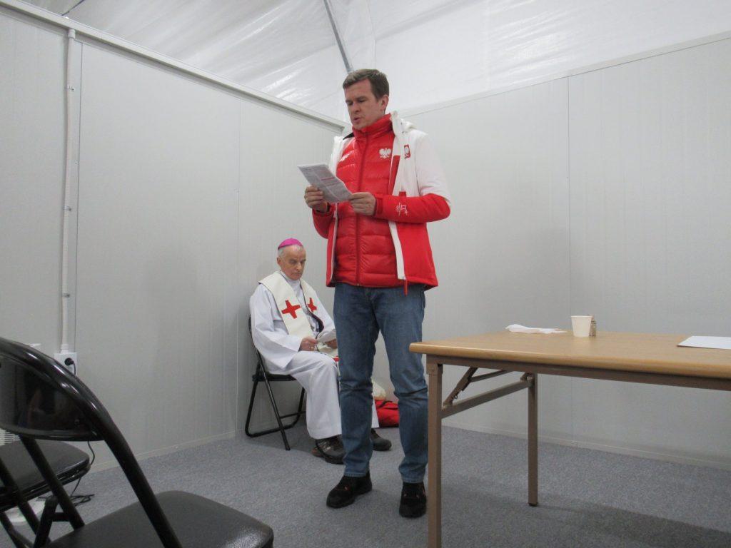 Olimpiada w Pjongczangu Msza święta