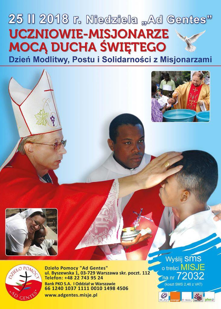 Plakat Niedziela AdGentes