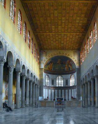 Rzym bazylika św. Sabiny Bob Flickr