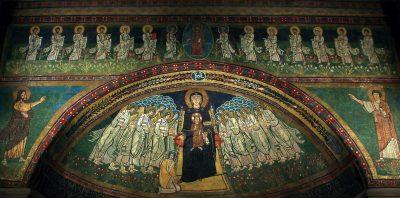 Mozaika Matki Bożej