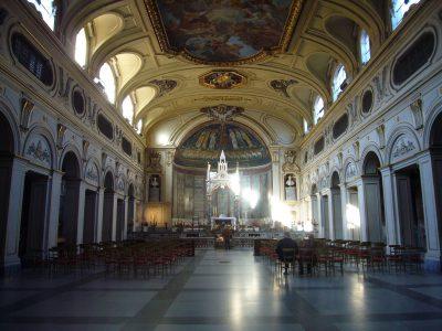 Wnętrze bazyliki św. Cecylii