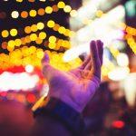 Karnawał modlitwa ręka