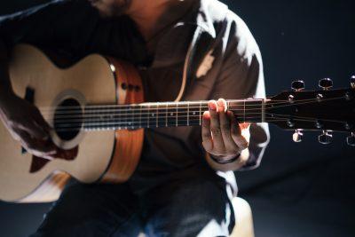 muzyka, koncert, gitara, muzyk