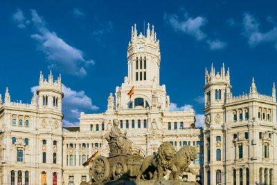 Hiszpania Madryt ratusz