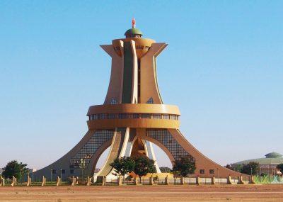 wieża męczenników w Burkina Faso