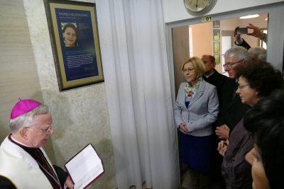 odsłonięcie pamiątkowej tablicy poświęconej Helenie Kmieć
