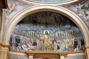 mozaika w bazylice św. Pucencjany w Rzymie
