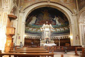 mozaika w bazylice świętych Kosmy i Damiana