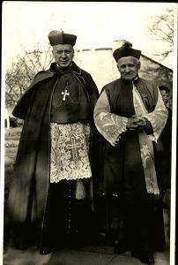 Bp Ignacy Świrski i kard. Stefan Wyszyński