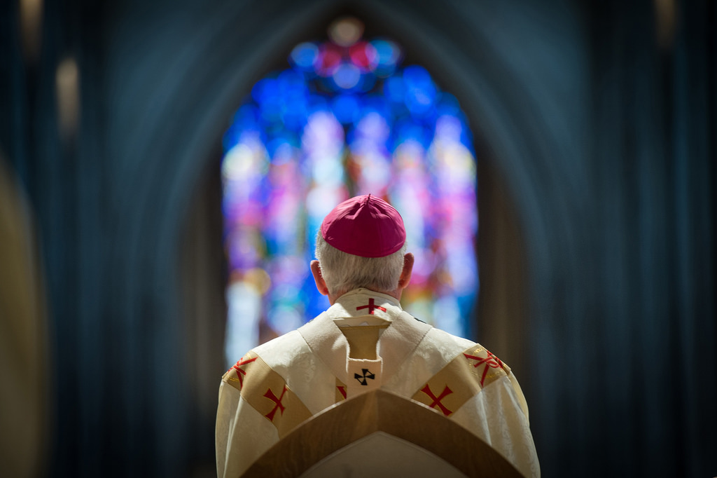 biskup liturgia modlitwa