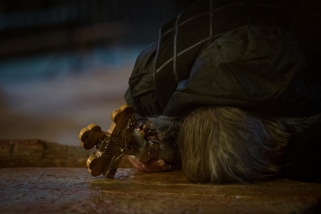 Pielgrzym Bazylika Grobu Chrystusa w Jerozolimie