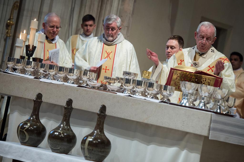 Msza Krzyżma liturgia