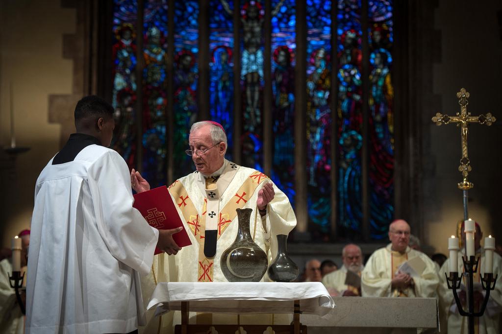 Msza Krzyżma biskup