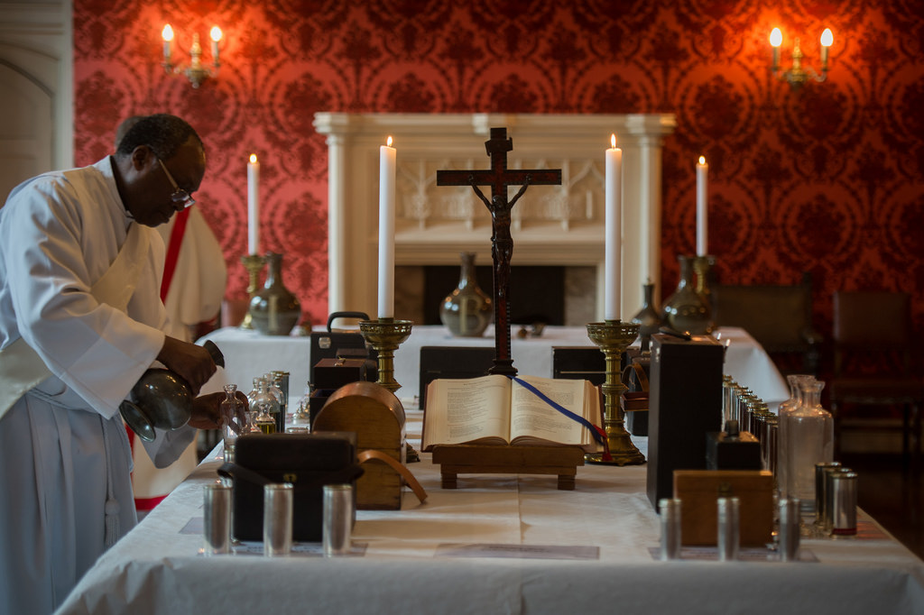 Oleje zakrystia liturgia