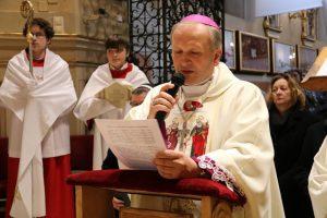 Bp Łukasz Buzun w Sanktuarium św. Józefa