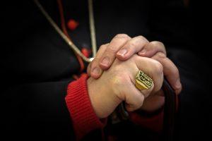 Pierścień kardynał biskup