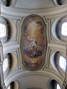 Fresk Chwała św Euzebiusza